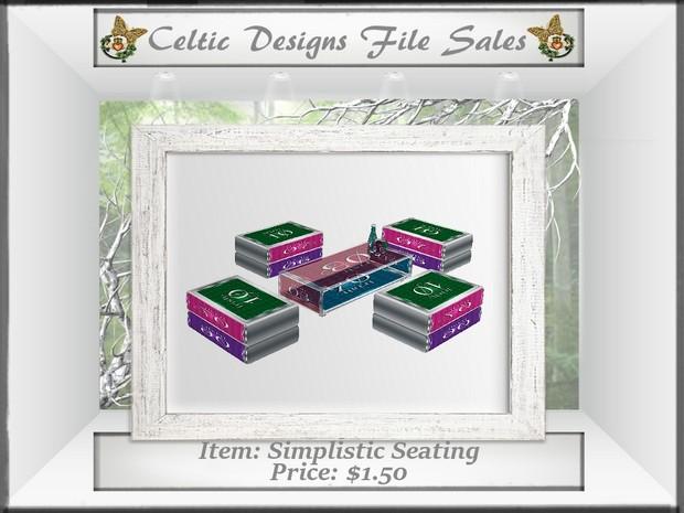 CD Simplistic Seating