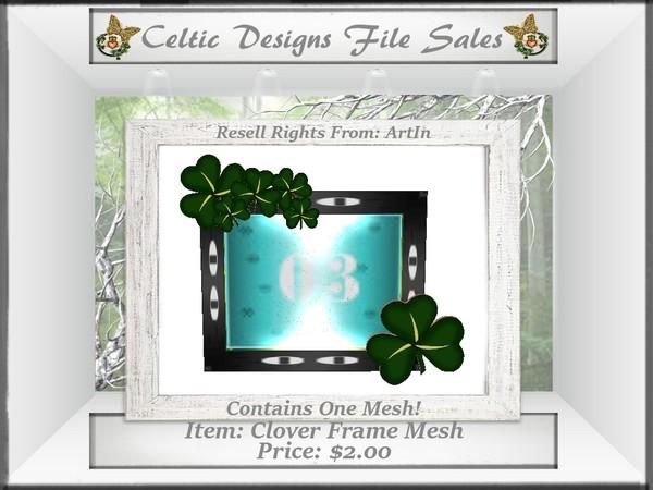 CD Clover Frame Mesh