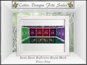 Basic Reflective Room Mesh