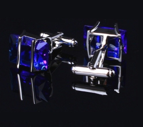 B Royal Designs Royal Blue Cufflinks