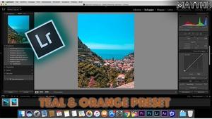 Teal & Orange Preset for Adobe Lightroom - MattHB