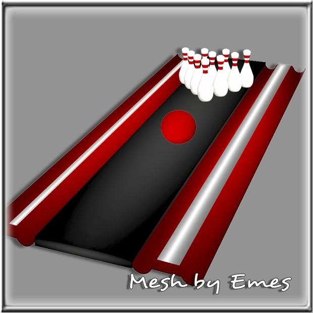 Bowling Set Meshes(7 meshes)