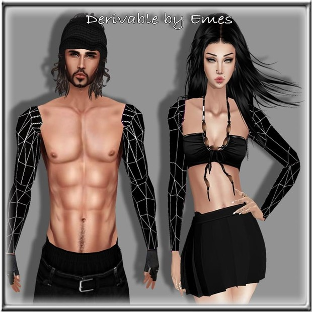 ARMS TATTOO MESH MALE