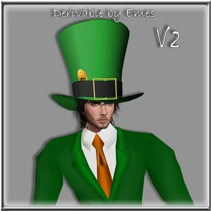 ST.PATRICK'S DAY TOP HAT MESH MALE  V2/ 2018