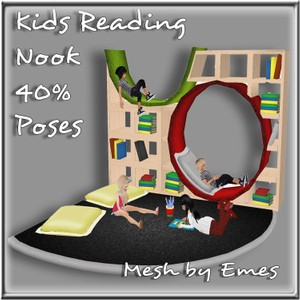 KIDS READING NOOK MESH SCALED 40% POSES