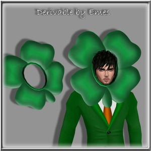 4 LEAF CLOVER HAT MESH MALE