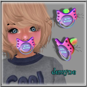 BOYS CAT PACIFIER WITH WHISKERS ANIMATED MESH
