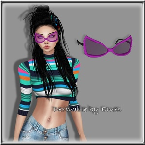 BUTTERFLY GLASSES MESH FEMALE LIMITED 10 PPL
