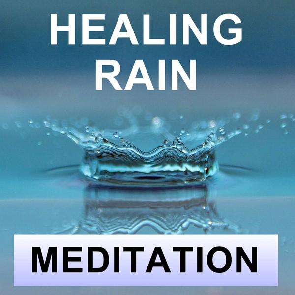 Healing rain meditation for sleep