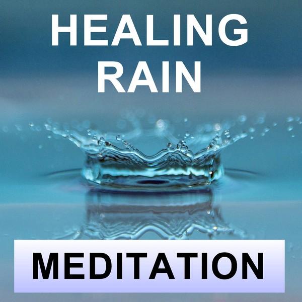 Healing rain meditation for sleep