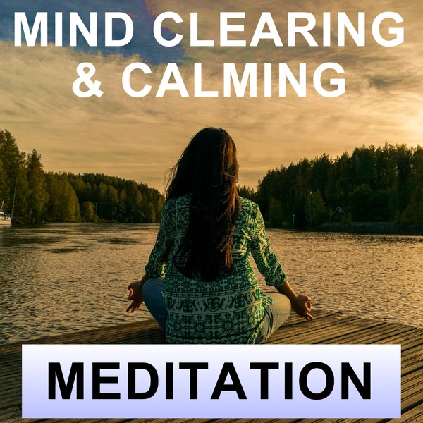 Mind clearing look around meditation for calmness and grounding