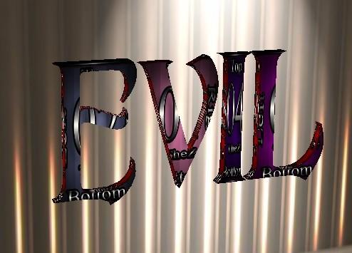 IMVU Evil Wall Art