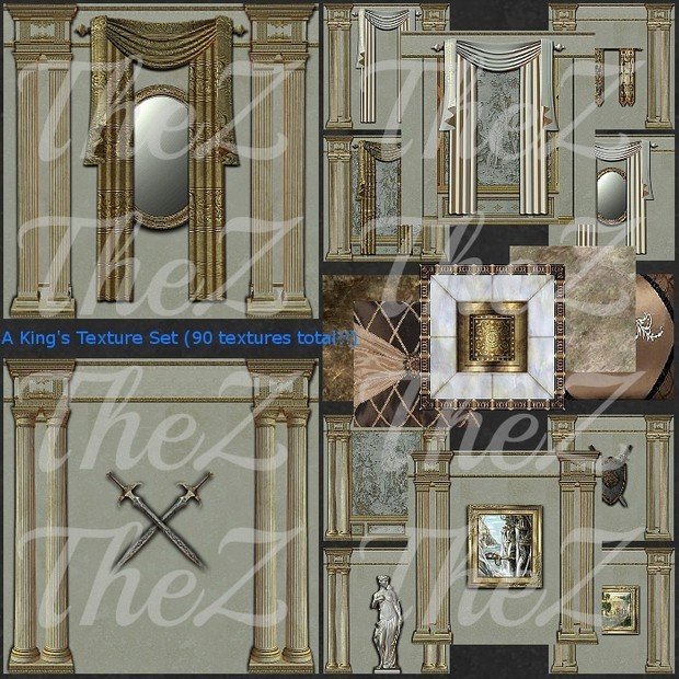 IMVU A King's 3 Texture Set