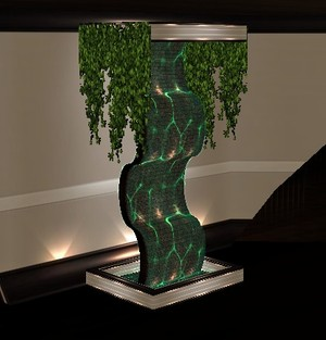 IMVU Fountain Sculpture Mesh