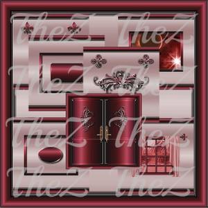 IMVU Rouge Texture Set