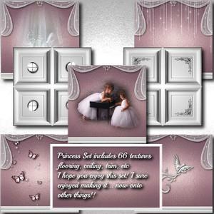 IMVU Princess Room Texture Set