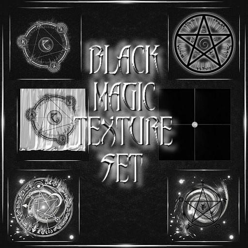 Black Magic Texture Set