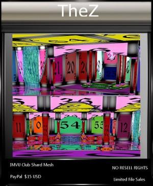 IMVU Club Shard Mesh