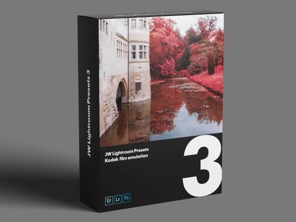 JW Lightroom Presets 3 — Kodak stock emulation