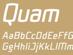 Quam Bold Italic