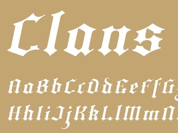Clans Italic