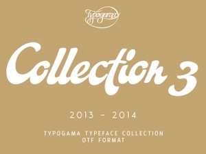 Typogama Collection 2013-14