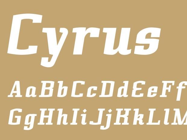 Cyrus Black Italic