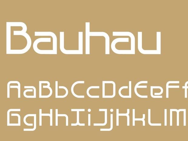 Bauhau Bold