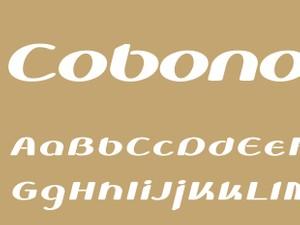 Cobono Bold Italic