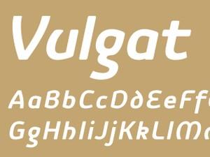 Vulgat Bold Italic