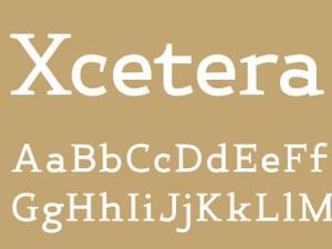Xcetera Bold