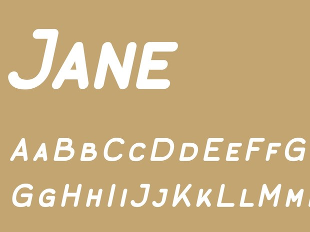 Jane Caps Bold Italic