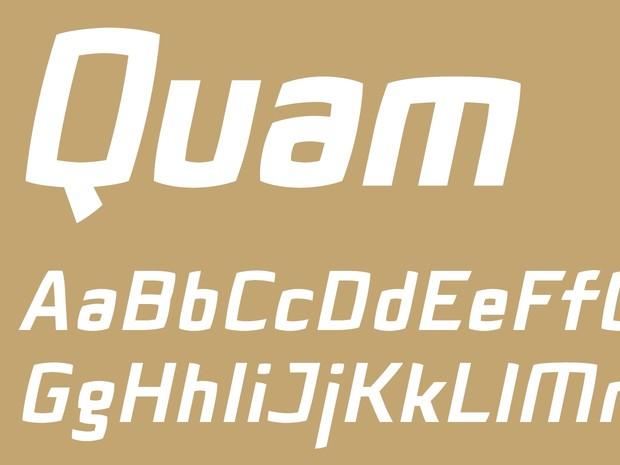 Quam Black Italic