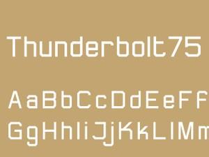 Thunderbolt75 Regular
