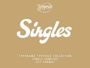 Typogama Singles Collection