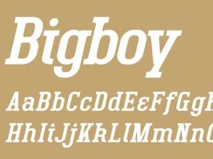 Bigboy Regular Italic
