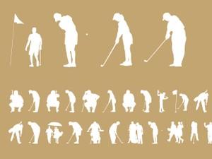 Palm Icons Golfers