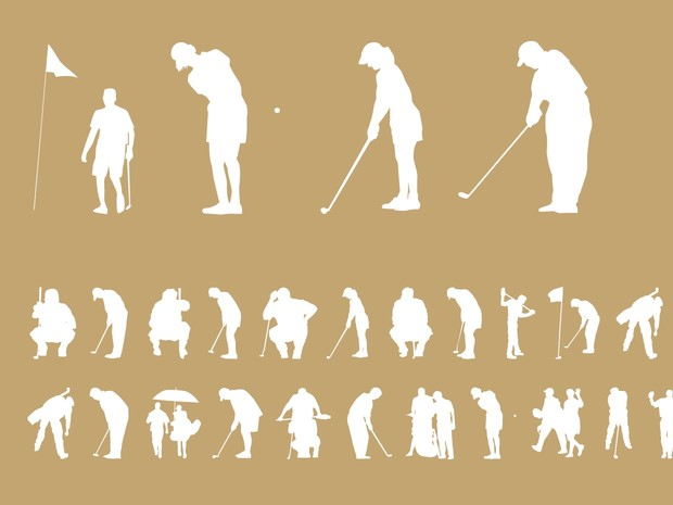Palm Icons Golfers