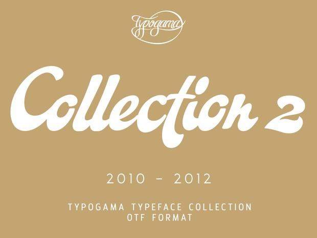 Typogama Collection 2010-2012