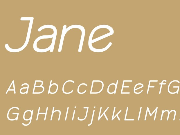 Jane Light Italic