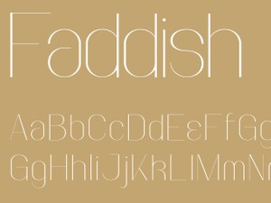 Faddish Regular