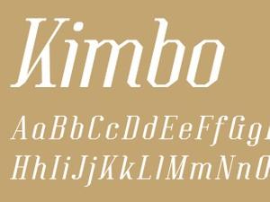 Kimbo Italic