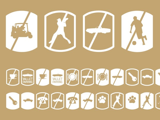 Palm Icons No Signs