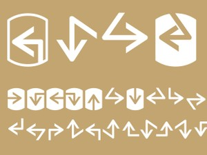 Palm Icons Arrows