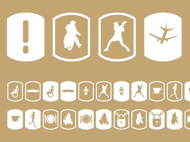Palm Icons Signs