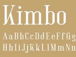 Kimbo Regular
