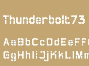 Thunderbolt73 Bold