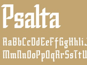 Psalta Bold