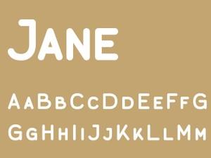 Jane Caps Bold