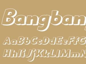 Bangbang Outline Italic